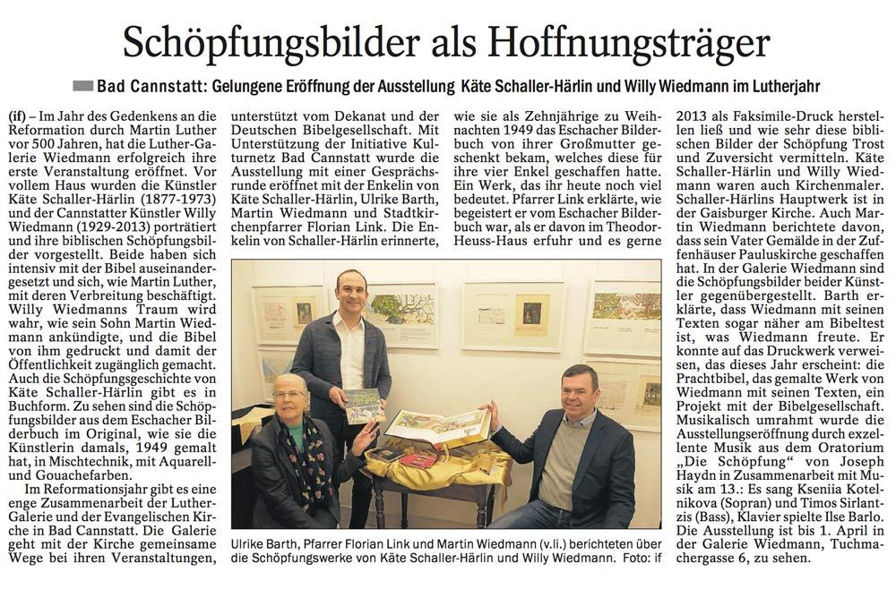 Quelle: Cannstatter / Untertürkheimer Zeitung 03.02.17