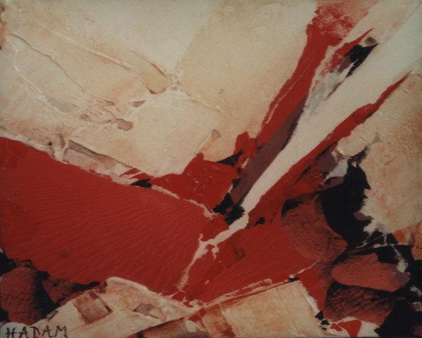 Ute-Hadam-abstrait-rouge