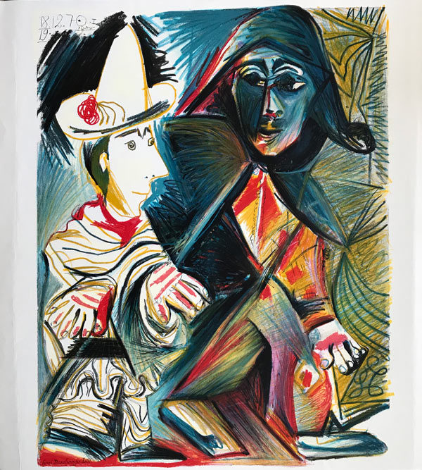Picasso-2-Harlekine