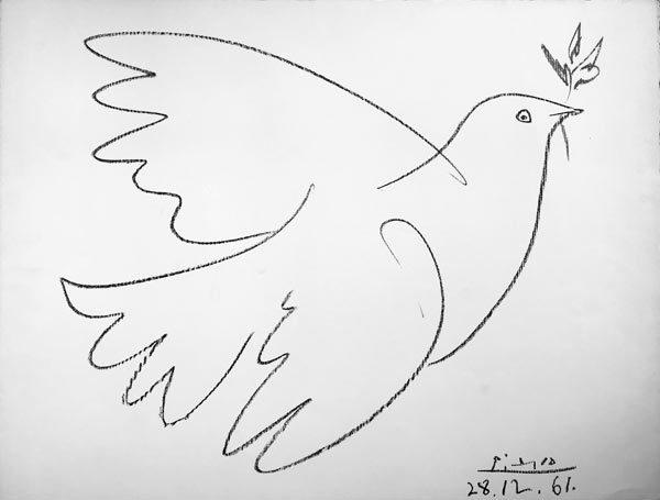Picasso-Friedenstaube-mit-Zweig