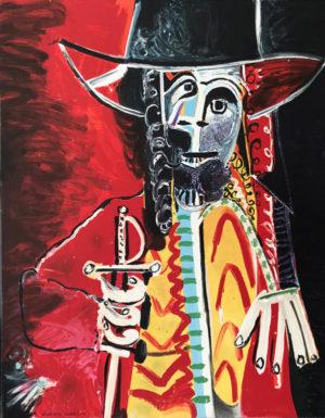Picasso-Mann-mit-Schwert
