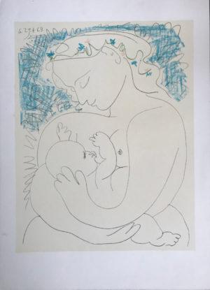 Picasso-Stillende-Frau